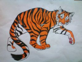 Tiger - colored by galis33