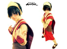Toph version fuego by Piyoko-Shannaro