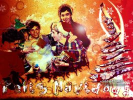 Wallpaper De Navidad by addieditions