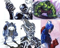 sketch Cards 2 by bolognafingers