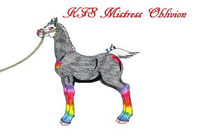 Mistress Oblivion weanling ref by rempage