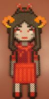 Damara Megido Perler by Blackshadowbutterfly