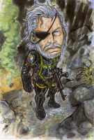 METAL GEAR SOLID: Ground zeroes by Djiguito