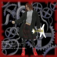 3D Visual Kei Band, Guitarist by ibr-remote