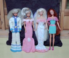 Clothes for Barbie dolls by ToveAnita