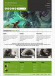 Barcelona WP Theme - ARTist Showcase Example by ait-themes