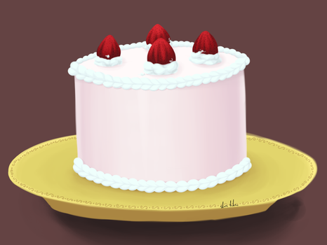 Cake Time by mewchild