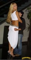 Minigiantess Anna Kournikova hug by lowerrider