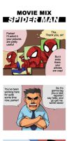 Spiderman meets Superman by supercluster-hong