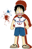Kid Luffy-Colored by Dosiguales