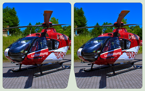 Airborne Emergency Doctor 3D ::: Cross-Eye Stereo by zour