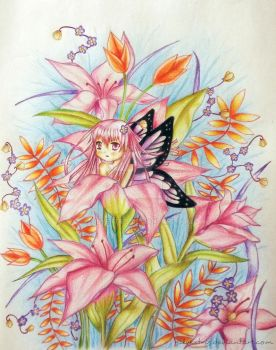 Unknown Species - Little Thumbelina by Silvextris
