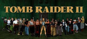 Tomb Raider II Collage by Rattlehead92
