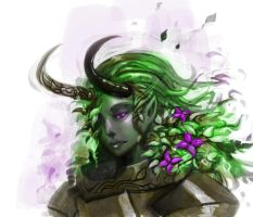 The Sylvari Devil by Shiro169