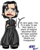 Snape - Ghosts are Transparent by Cupcake-Apocalypse
