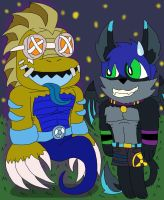 Happy birthday Kc from Lizard Neon by MagicArt1