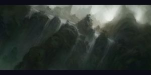 Water Fall Canyon by KillerBe