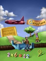Aeroplane - Playing with numbers by Deslaias