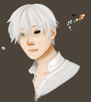 Ginko Realism Attempt WIP by ChibiHaruChans