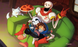 undertale by tabe103
