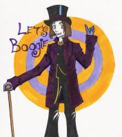Willy Wonka by Sally-skellington