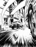 Car Chase by ADAMshoots