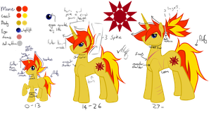 Daybreak Isaac Shine .:Ref:. by weirdfuzzything