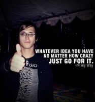 mikey quote by darkwaylovesMCR