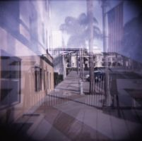 Double Exposure by 17thletter