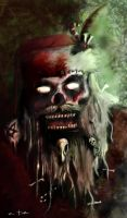 Zombie Santa by The-Misfit-Toy