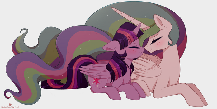 Twi And Celly by MomoMistress