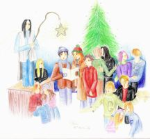 Harry Potter Xmas by iirima-jennifer