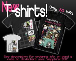 New SW-original Invader Zim Tees by Sapphire4723