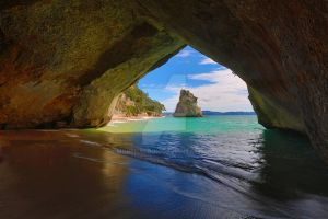 Cathedral Cove by morphadron
