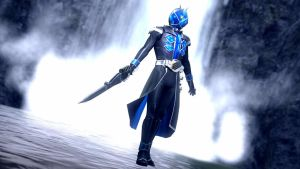Kamen Rider Wizard - Water Style by dumbass333