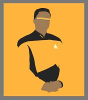 Geordi La Forge by ContntlBreakfst