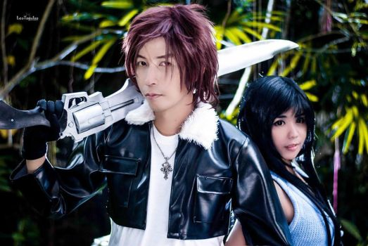 Rinoa and Squall by sarifromwonderland