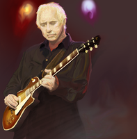 Mark Knopfler by goeyoshi