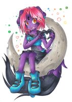 Commission: Crescent by Chibi-Nuffie