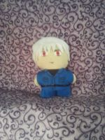 Prussia Mini Plushie by snowtigra