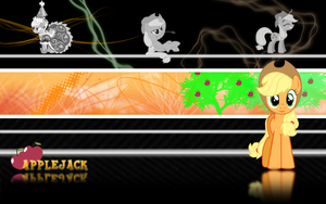 FiM: Applejack Wallpaper 2 by M24Designs
