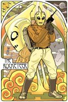 Rocketeer in Color by Rowen-silver