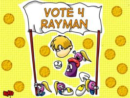 Vote for Rayman! by xNaika93x