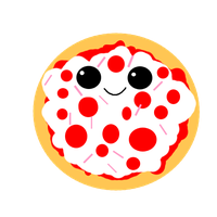Pizza PNG by BellaThorneAlways