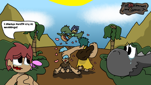 Of Miceosaurs and Cavemen 8: Marriage by nicholangelo
