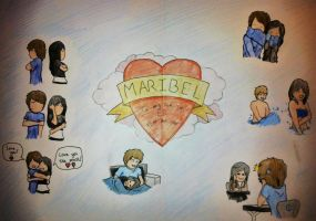 To my lovely girlfriend Maribel - A danish drawing by TobisCsC