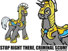 Stop right there criminal scum by Tristikov