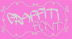 +Graffiti Font by WithoutTheLove-Music