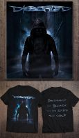 Dissorted - Art for t-shirt by LaercioMessias