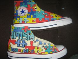 autismsneakers by brolicdesigns